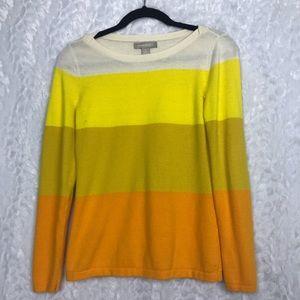 Banana Republic colorblock sweater size small